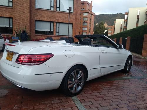 mercedes-benz clase e cabriolet 2016