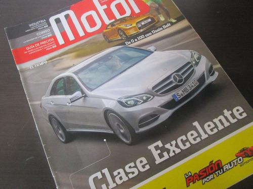 mercedes benz clase e revista de coleccion año 2013