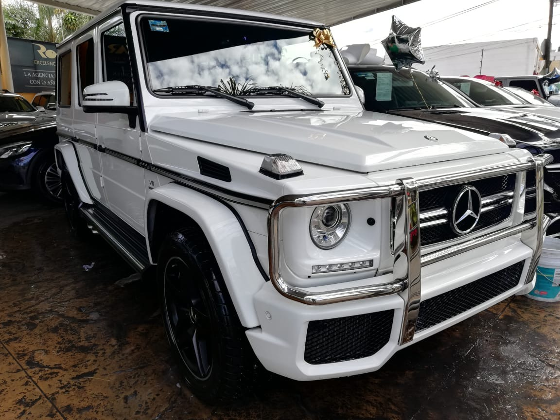 Mercedes Benz Clase G 5 5l G 63 Amg Biturbo At