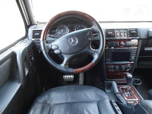 mercedes benz clase g500 blindado nivel iv plus 2010