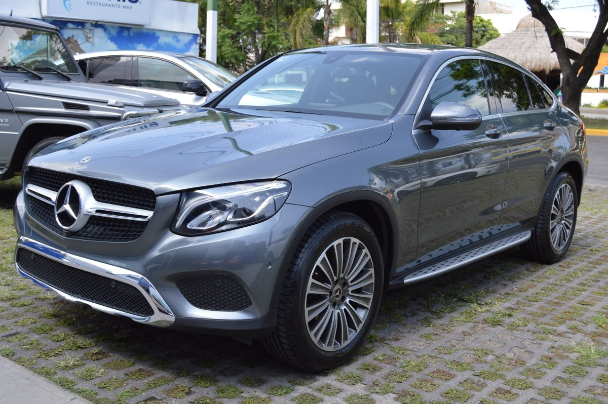 mercedes benz clase glc 300 2018 coupe avantgarde gris 799 000 en mercado libre. Black Bedroom Furniture Sets. Home Design Ideas