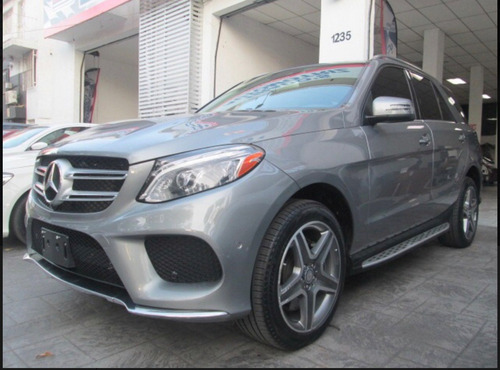 mercedes benz clase gle 3.0 suv 400 sport at 2017