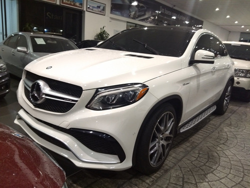 mercedes-benz clase gle 5.5l coupe 63 amg at 2017