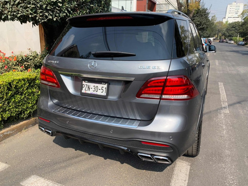 mercedes-benz clase gle 5.5l suv 63 amg at 2017