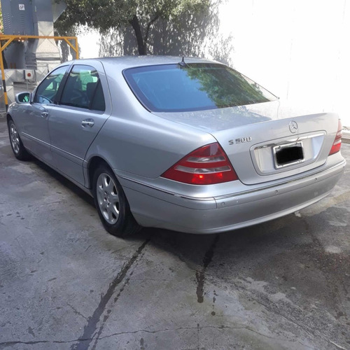mercedes-benz clase s 500 blindado nivel 3