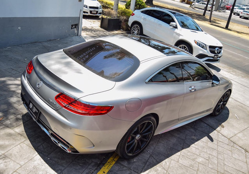 mercedes-benz clase s 5.5l coupe 63 amg 4matic mt