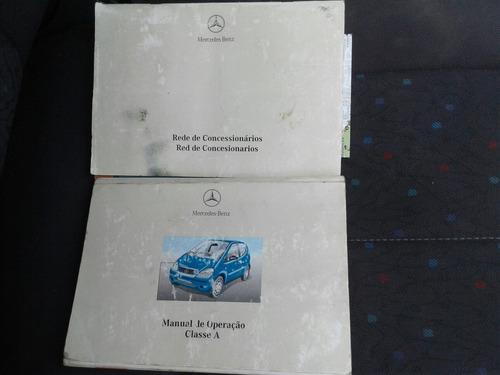 mercedes-benz classe a 1.9 elegance 5p manual 2002