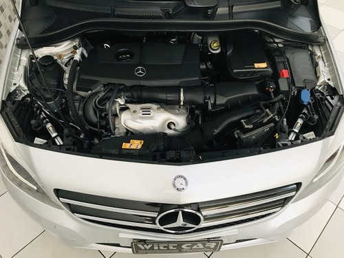 mercedes-benz classe b b200 sport 1.6 turbo 2013 prata