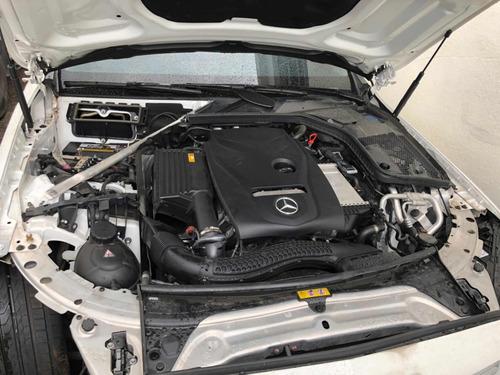 mercedes-benz classe c 1.6 avantgarde turbo 2p 2018