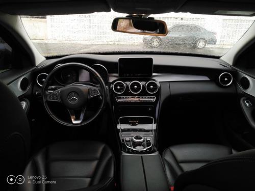 mercedes-benz classe c 1.6 avantgarde turbo 5p 2015