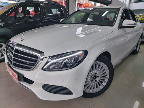 mercedes-benz classe c 1.6 exclusive turbo flex 4p 2018