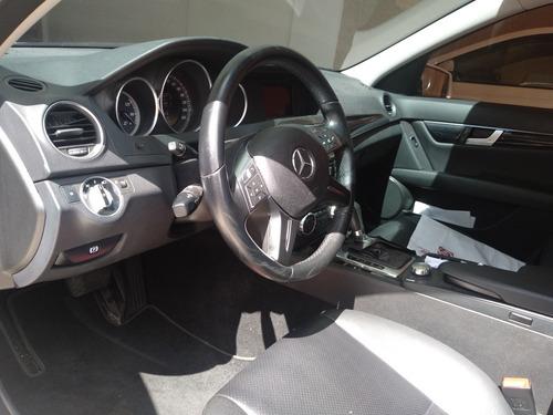 mercedes-benz classe c 1.8 avantgarde turbo 4p 2012