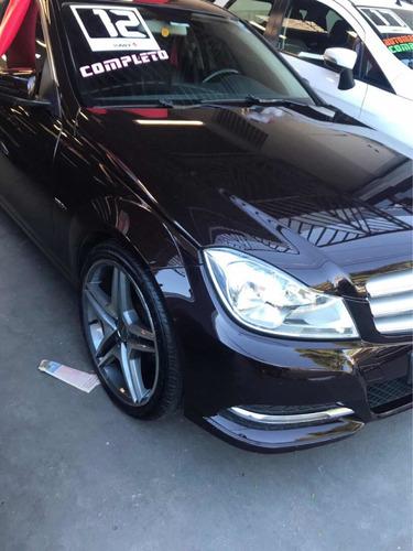 mercedes-benz classe c 1.8 cgi turbo 4p 2012