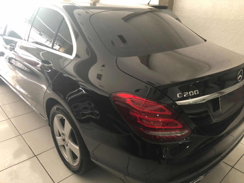 mercedes benz classe c 2.0 avantgarde turbo 4p 2016