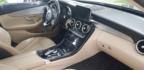 mercedes-benz classe c 2015 1.6 avantgarde turbo 4p