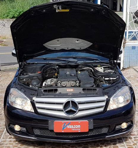 mercedes benz classe c c200 1.8 avantgarde kompresor 4p 2009