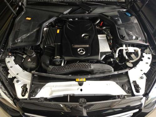 mercedes-benz classe c180 1.6 avantgarde turbo flex 4p 2016