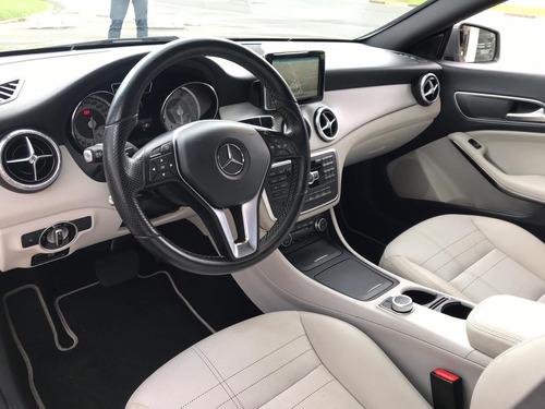 mercedes-benz classe cla 1.6 vision turbo cinza 2015