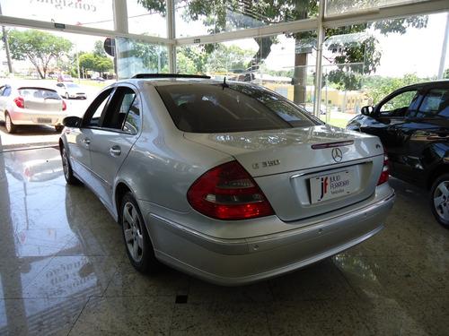 mercedes-benz classe e 350 3.5 v6 elegance prata 2005