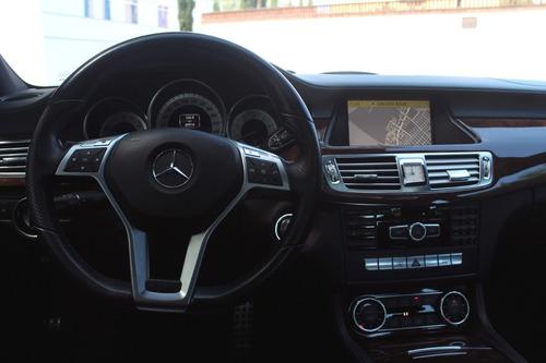 mercedes benz cls 350 ,piel, aire, elec, aut, 2012 impecable