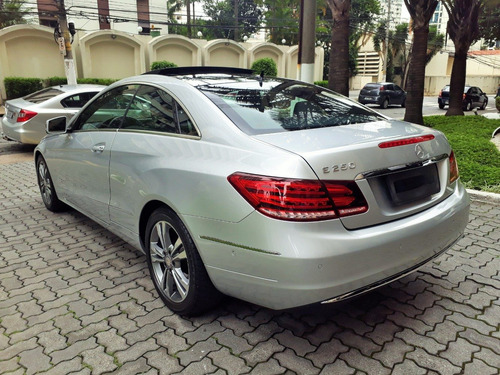 mercedes benz e 250 coupe 2.0 16 v turbo  2014