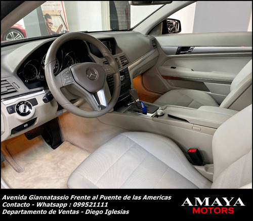 mercedes benz e 250 coupe 2012 !! unico !! amaya motors