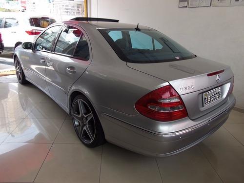 mercedes benz e 320 avantgarde 3.2 (nova série) aut 2005