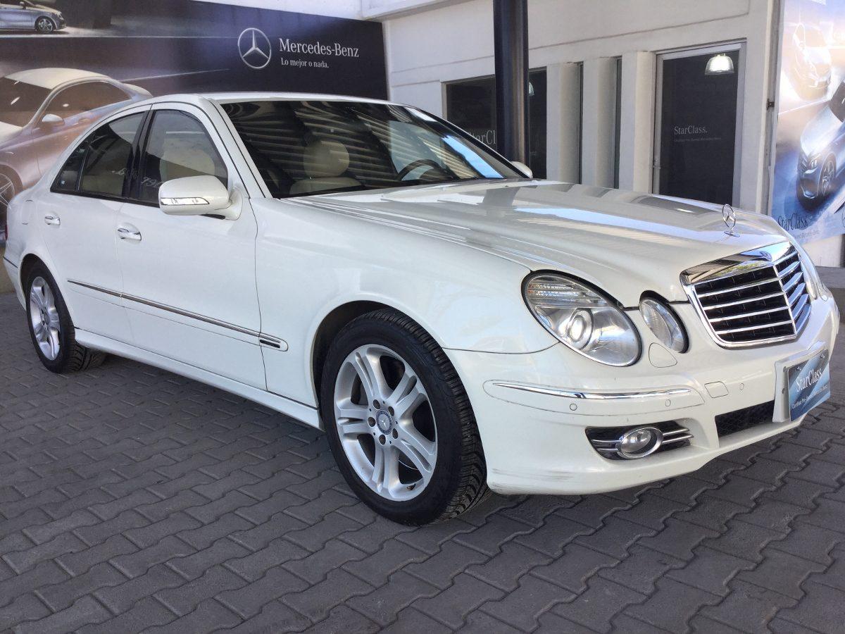 Mercedes benz e 500 b4 2009 blanco 470 000 en mercado for Mercedes benz suv 2009