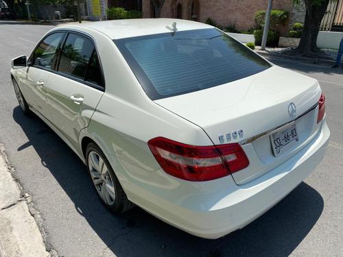 mercedes benz e200 2012 blanco, impecable, factura original