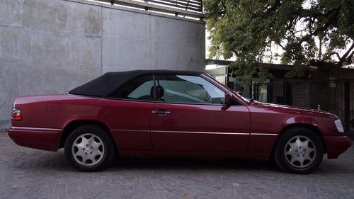 mercedes benz e220 at cabriolet 1995 50.000 kms