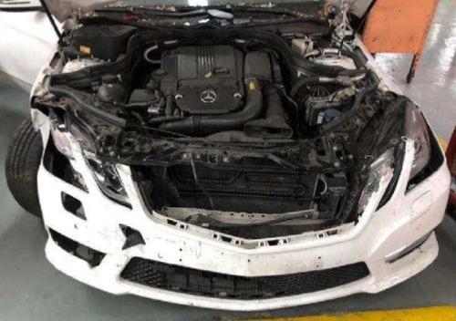 mercedes benz e250 2013 unidad dada de baja