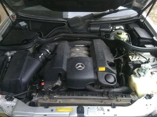 mercedes benz e320 v6 sucata p peças motor câmbio