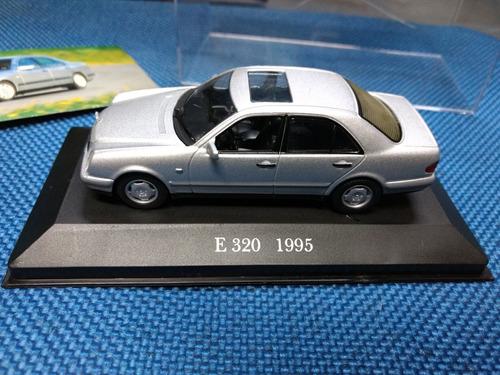 mercedes benz e320 w210 1995 1:43 ixo não minichamps