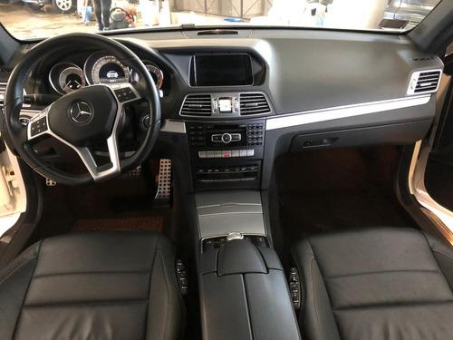 mercedes benz e350 coupe año 2014 color blanca