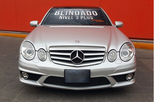 mercedes benz e63 amg 2008 blindado nivel 3 plus