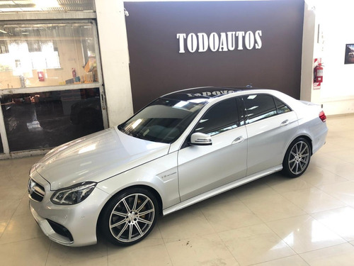 mercedes benz e63 amg año 2013 color gris