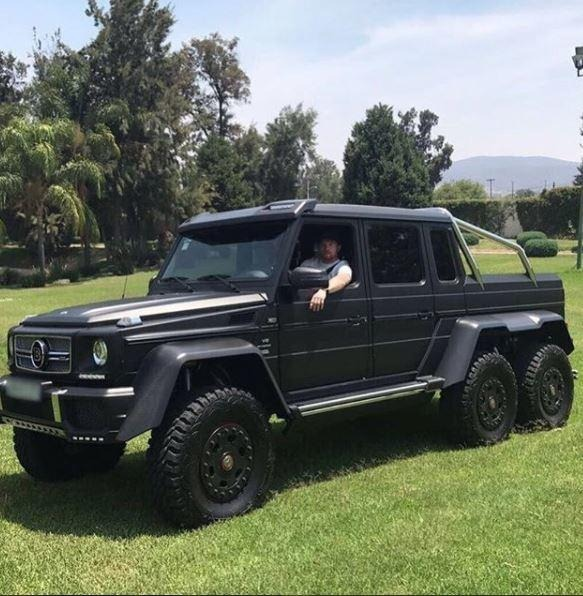 Mercedes G63 Amg 6X6 >> Mercedes Benz G63 Amg 6x6. 2017.como La Del Canelo. 1:64 - $ 70.00 en Mercado Libre