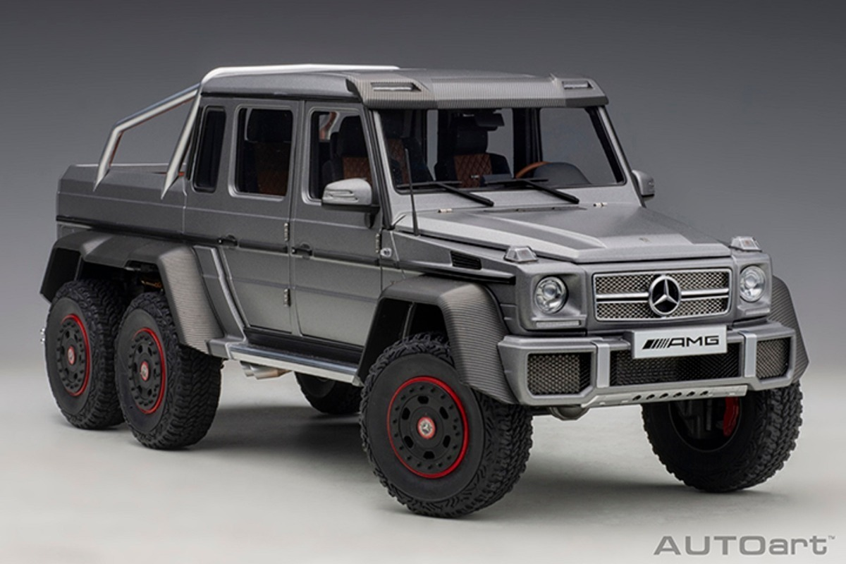 Extream2009 Mercedes Benz G63 Amg 6x6 Msi De Coleccion 6 490 00