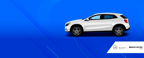 mercedes benz gla 200 4*2 blanco - at cuero 2020
