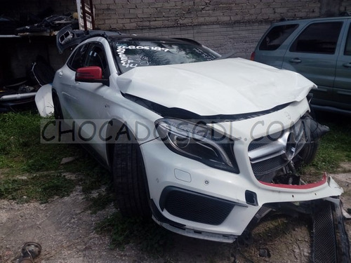 mercedes benz gla45 amg 2015 chocado para reparar...