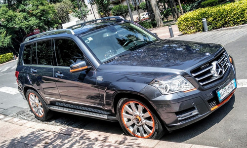 mercedes benz glk orange art bitono lujo, offroad 4x4;4matic