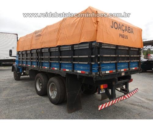 mercedes-benz l 1113 truck turbo carroceria graneleira nova!
