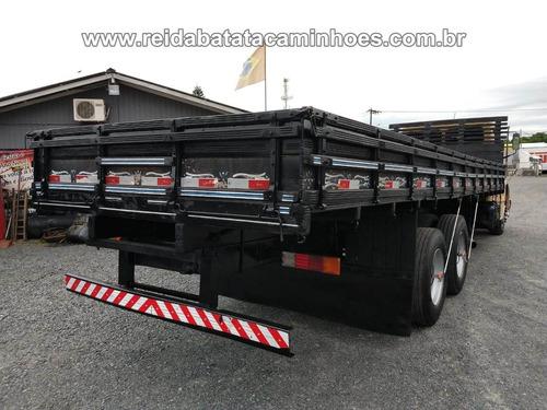 mercedes benz l 1618 turbo truck carroceria 8,40m revisado !