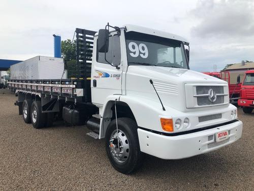 mercedes-benz l 1620 6x2 1999/1999 - ativa caminhões