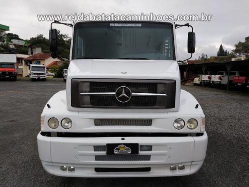 mercedes-benz l 1620 truck granaleiro revisado impecável