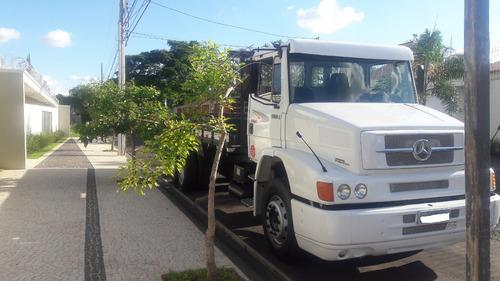 mercedes. benz l1620 truk ano 2006, carroc. aberta promoção