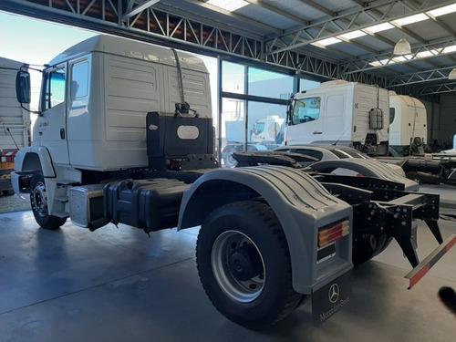 mercedes benz l1634 año 2012 tractor