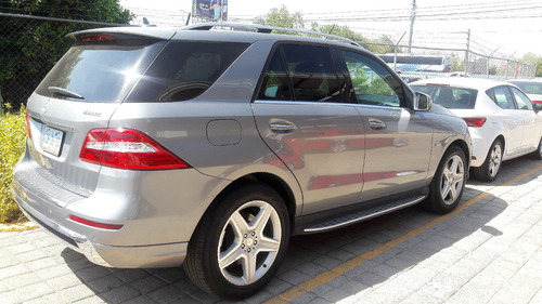 mercedes benz  m 3.5 ml 350 cgi  2012 gris 107.000 km