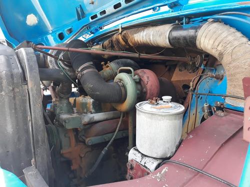 mercedes-benz mb 1113 bau de 77 mts cubicos! aceita troca