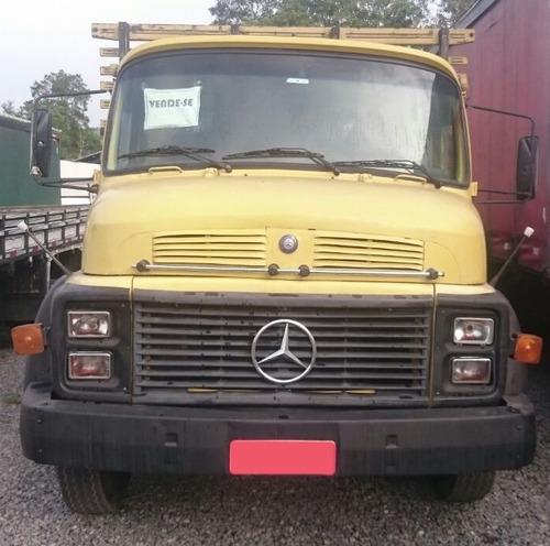 mercedes-benz mb 1113 truck ano 1983 carroceria aberta